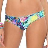 Luli Fama Women's Clandestina Full Ruched Back Bikini Bottom