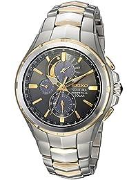 【デッドストック/アウトレット品】SEIKO(セイコー) SOLAR/ソーラー SSC376 COUTURA/クチューラ パーペチュアルカレンダー クロノグラフ メタルベルト メンズウォッチ 腕時計[並行輸入品]