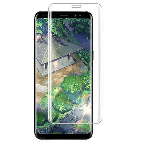 Galaxy S9 Plus フィルム 3D曲面加工 全面保護 S9+ ガラスフィルム 表面硬度9H 高透過率 指紋防止 au SCV39 docomo SC-03K Samsung ギャラクシー エスナインプラス 保護フィルム クリア