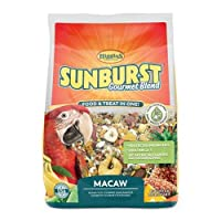 Higgins Sunburst Gourmet Food Mix for Macaws 3lbs by Higgins Premium Pet Foods