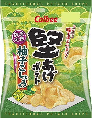 堅あげポテト(柚子こしょう味)の通販の画像