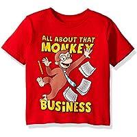 Curious George Toddler Boys' Monkey Business Short Sleeve T-Shirt