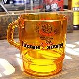 REDDY KILOWATT レディキロワット クリアプラスチック マグカップ アメリカ雑貨 アメリカン雑貨