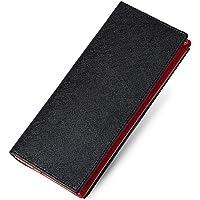 GLEVIO(グレヴィオ) 財布 メンズ ブラック×レッド