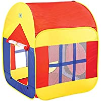 idamtok Childrens Play Tent折りたたみ式Playhouseポップアップ再生テントおもちゃfor Kids