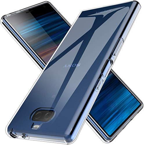 GEEMEE Sony Xperia 10 Plus ケース 保護 カバー 透明 TPU素材 クリスタル 超薄型 超軽量 Sony Xperia 10 P...