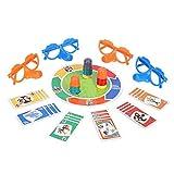 家族向けの楽しみ「うそつき」ゲームファイバーボードゲームには、面白いメガネとカードが含まれています成長している鼻面白い家族向けの子供向け大人のおもちゃ
