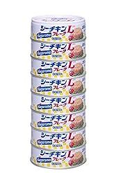 【Amazon.co.jp限定】はごろも シーチキンLフレーク 70g×8缶