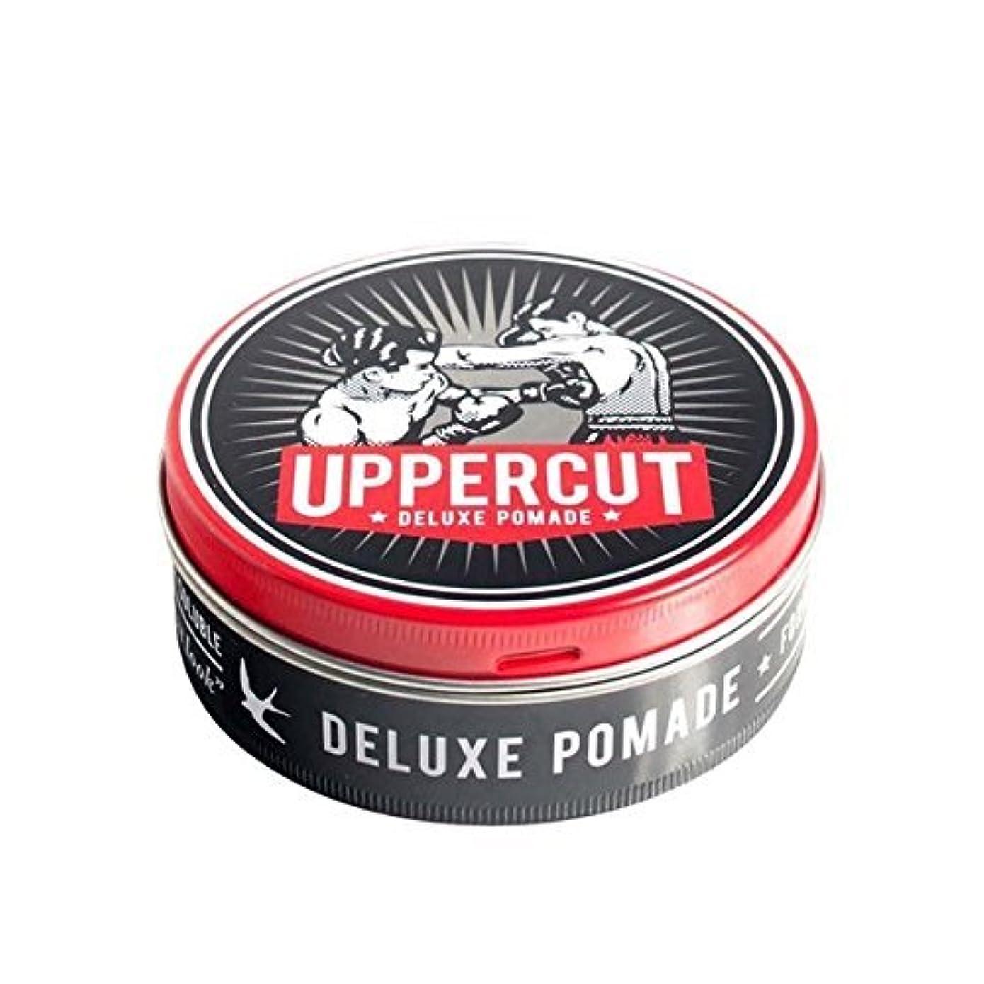 容量フライト豚UPPERCUT DELUXE POMADE アッパーカット デラックス ポマード 100g
