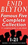 The Famous Five Complete Collection: All 21 Books in One Ebook (English Edition) 画像