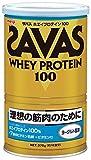 明治 ザバス ホエイプロテイン100 ヨーグルト風味 378g 約18食分 × 5個セット