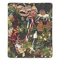 マウスパットー滑り止め加工処理 ファッション クリスマスツリーの飾り玩具ガーランド