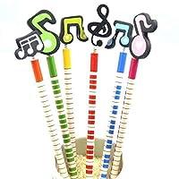 96 ピース/ロットかわいい音符木製鉛筆学生描画鉛筆文房具 セット 子供 ギフト 卸売