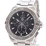 [タグホイヤー]TAG Heuer 腕時計 アクアレーサー クロノグラフ CAY1110.BA0927 中古[1299768]ブラック 付属:国際保証書 ボックス