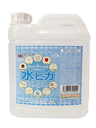 アルカリ電解水クリーナー 水ピカ 業務用 2L