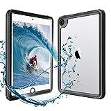 HouseBoye iPad mini5 防水ケース アイパッド IP68防水規格 タブレットケース 耐衝撃 全面保護アイパッドカバー 防水 防塵 擦り傷防止手触り良い水場 薄型 アウトドア お風呂 プール iPad ミニ5 専用