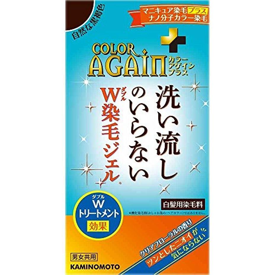 パスタ糸不健全カラーアゲインプラス 自然な黒褐色 80mL×3個