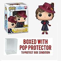 POP! 映画:メアリーポピンズ (傘付き) ホットトピック限定ビニールフィギュア (ポッププロテクター付き)