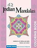42 Indian Mandalas Adult Coloring Book