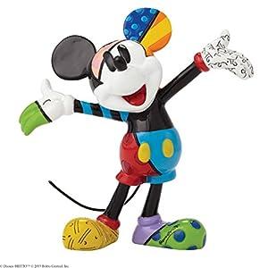 enesco 置物 Mickey Mouse Mini Fig W3.2×H8.3×L7.6cm Disney by Britto 4049372