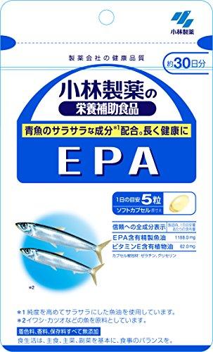 小林製薬の栄養補助食品 EPA 約30日分 150粒...