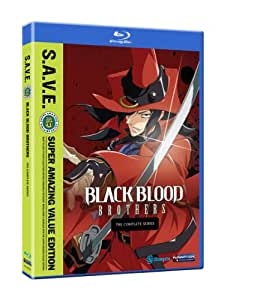 Black Blood Brothers: The Complete Series S.A.V.E. (ブラック・ブラッド・ブラザーズ 北米版) [Blu-ray]