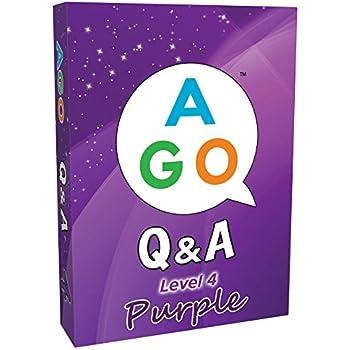 AGO Q&A パープル レベル 4 英語 カードゲーム
