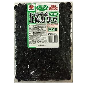 菊池食品工業 北海黒黒豆 大粒1kg (E-10)