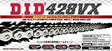 D.I.D(大同工業)バイク用チェーン 軽圧入クリップジョイント付属 428VX-120FB S&S(シルバー) X-リング 二輪 オートバイ用