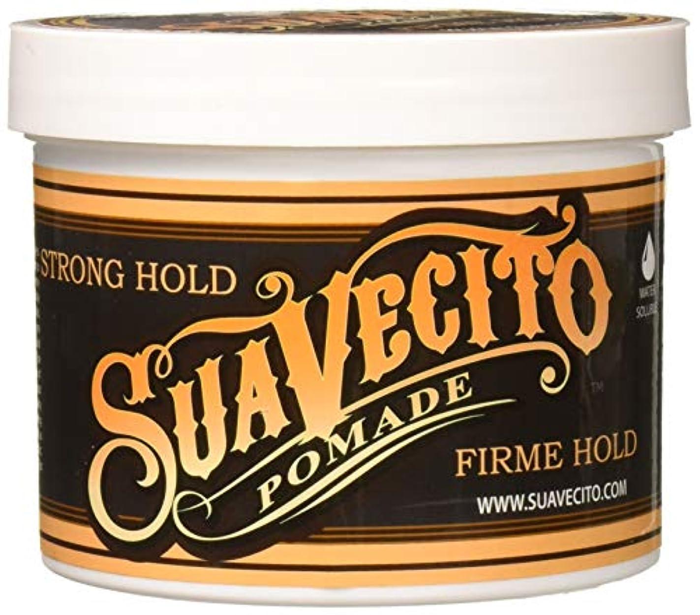 バイオリン水素大胆不敵Suavecito ポマードFirmeは32オンスをホールド 32オンス