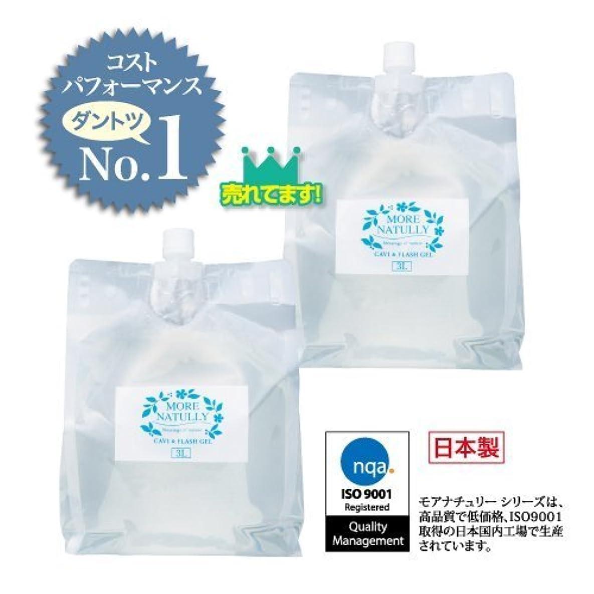 着実にポーン実行可能モアナチュリー キャビ&フラッシュジェル 【ソフト】3kg×2袋