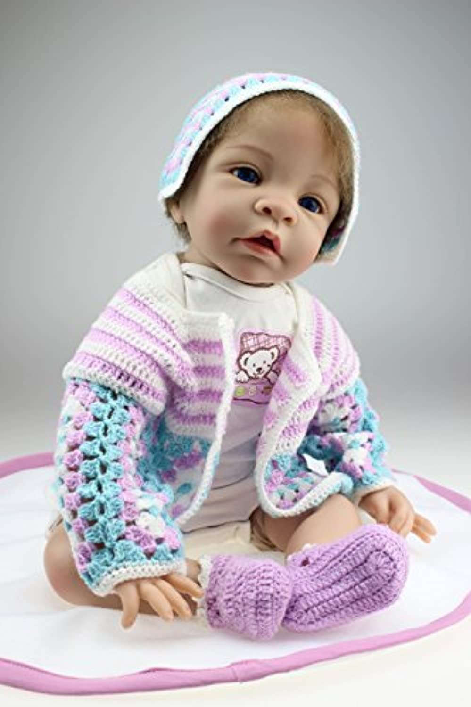 NPK COLLECTION 55CM リボーンドール ベビードール きせかえ人形 お人形 ドール 誕生日プレゼント 新年プレゼント