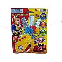 My Firstボタン車のキーセット3 with 3車サウンドプラスチック幼児/赤ちゃんおもちゃ