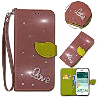 (For Ulefone S8) Flip Wallet Case Cover and 360 Degree Full Body Protective Bumper Cover, Premium レザーフォンケース Material - Brown