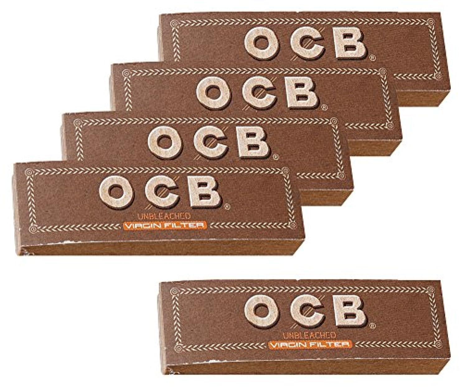 ボイラーランチ収容する柘製作所(tsuge) OCB ブラウンロールフィルター [50枚入り] #78930 ×5パック