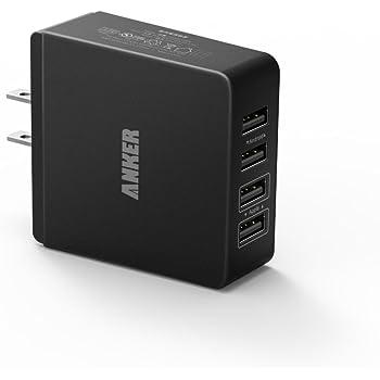 Anker 36W 4ポート USB急速充電器 iPhone5S/5C/iPad5/iPad Air/Xepria/Galaxyなどに対応