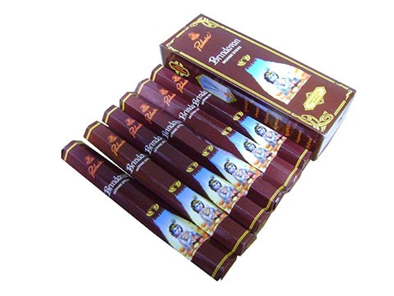 ルビー政治的モードリンPADMINI(パドミニ) パドミニ ブリンダーバン香 スティック BRINDAVAN 6箱セット