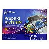 フィリピン用 プリペイド SIMカード Globe 4G LTE SIM Prepaid LTE Philippines Sim Card