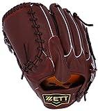 ZETT(ゼット) 野球 硬式 グラブ (グローブ) プロステイタス プレミアム ピッチャー 右投用 チョコブラウン(3700A) LH BPROG1P