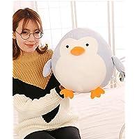 HuaQingPiJu-JP 創造40センチメートルぬいぐるみペンギンペンギンぬいぐるみソフトおもちゃペンギン子供子供ギフト(ブルー)