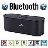 AGM Bluetooth スピーカー ステレオ 2.1CH YOUTUBE視聴可 大型低音用ウーハー装備 LED付 クリアーサウンド ( FMラジオ ) ( ハンズフリー テレホン ) ( LINE IN ) (USBメモリー ) ( MICRO SD ) 安心の基本機能一年メーカー保証 日本語説明書付 S207U (ブラック)