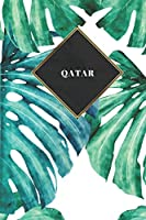 Qatar: Ruled Travel Diary Notebook or Journey  Journal - Lined Trip Pocketbook for Men and Women with Lines