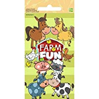 Amscan Happy Farm Stickers Collection [並行輸入品]