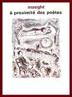 ポスター マルク シャガール A Proximite Des Poetes 1986 額装品 ウッドベーシックフレーム(レッド)