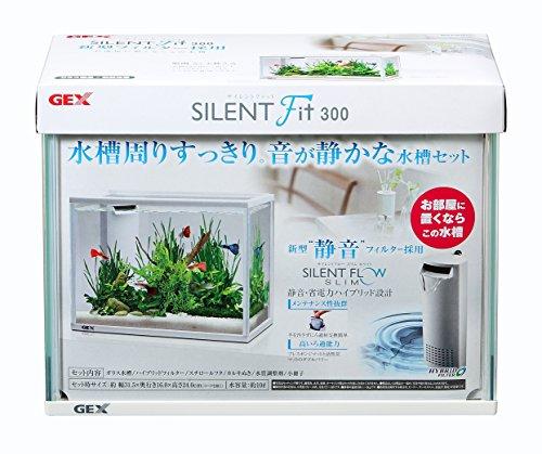 ジェックス サイレントフィット300 水槽セット 静音・省電力フィルター付
