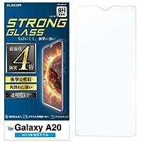 エレコム Galaxy A20 フィルム 3次強化 [角割れにも強い最強加工] 透明 PM-A20FLGT