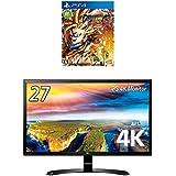 【PS4】ドラゴンボール ファイターズ + LG モニター ディスプレイ 27UD58-B 27インチ/4K(3840×2160)/IPS 非光沢/HDMI×2、DisplayPort/ブルーライト低減機能  セット