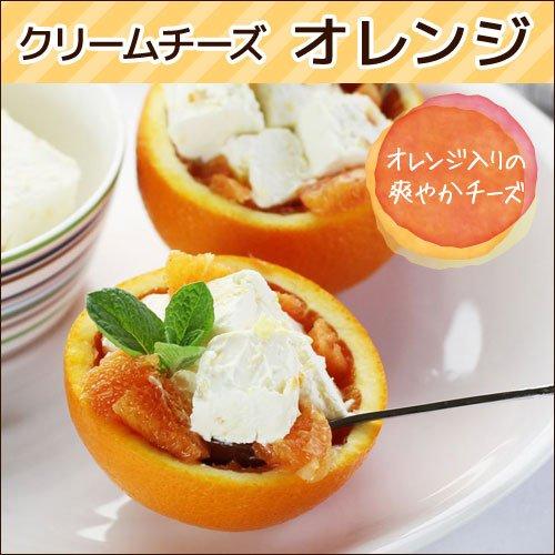クリームチーズ オレンジ 約500g