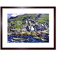Peploe Windy Day At Barra Framed Wall Art Print 壁