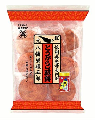 越後製菓 七味とうがらし煎餅 7枚×6個